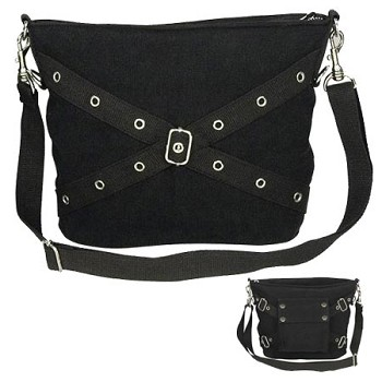 1-pocket Vintage Purse - Black