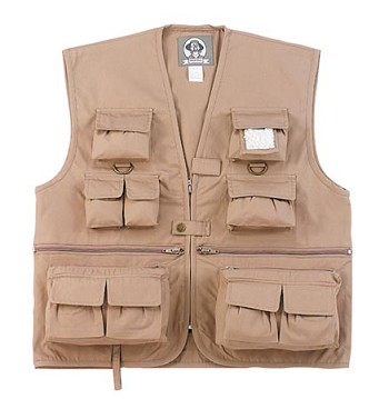 Kids Khaki Uncle Milty's Travel Vest