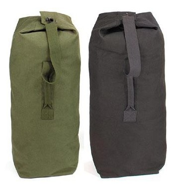 21 inch X 36 inch Top Load Military Duffle Bag