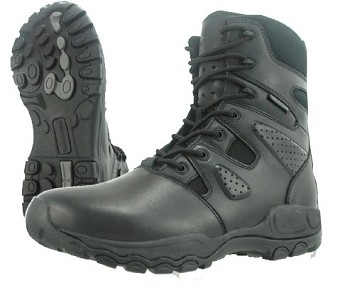 Smith and Wesson Shield Waterproof Zip 8-inch Tactical Boot