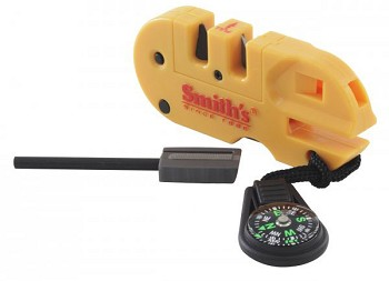 Smith's Pocket Pal X2 Knife Sharpener & Survival Tool