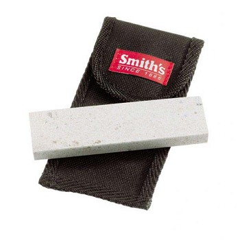 Smith's 4-inch Arkansas Sharpening Stone with Pouch