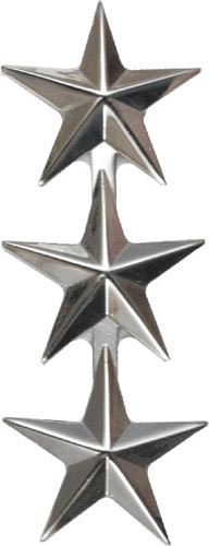 No Shine Rank, Lieutenant General Army, Marine Corps Insignia