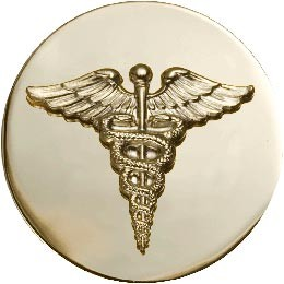 No-Shine Medical and US Enlisted Army Insignia