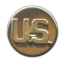 No-Shine U.S. Enlisted Army Insignia