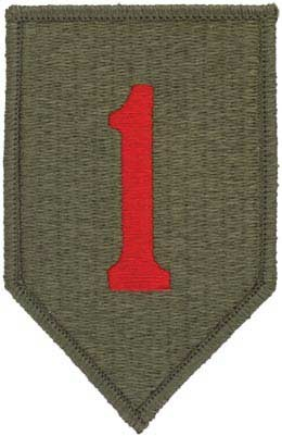1st Infantry Division Full Color Patch Army Patch