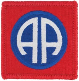 82nd Airborne Division Full Color Patch Army Patch