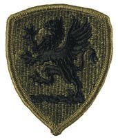Michigan National Guard Headquarters Subdued Patch Army Patch