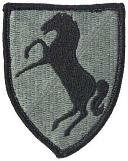 11th Armor Cavalry ACU Patch with Fastener Army Patch