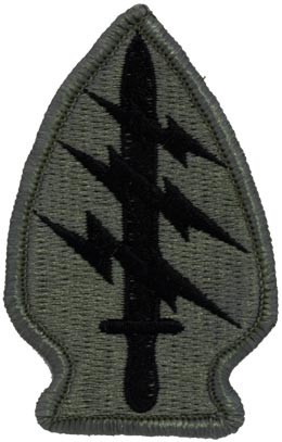 Special Forces ACU Patch with Fastener Army Patch