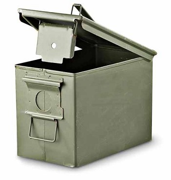 Military Surplus 30 Caliber Ammo Can
