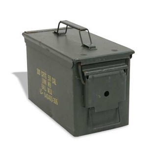 Military Surplus 50 Caliber Ammo Can