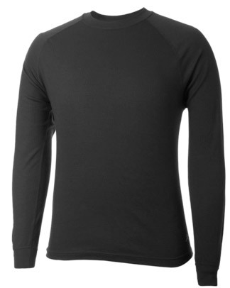 Terramar Black Microthermal Base Layer Top- W7565