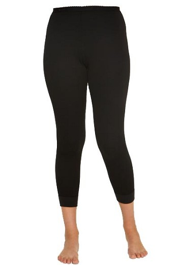 Terramar Women's Black Authentic 2 Layer Thermal Pant- W8284