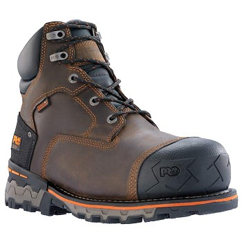 Timberland 92615 Boondock 6-inch Composite Safety Toe Waterproof Work Boots