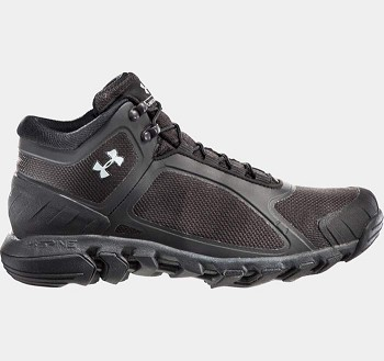 Under Armour Black Tactical Mid GTX Waterproof Boots
