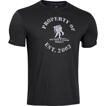 Under Armour Wounded Warrior Project - Property Of T-Shirt