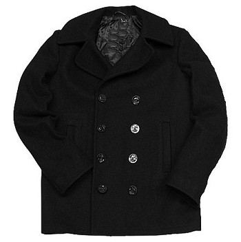 American Made US Navy Pea Coat