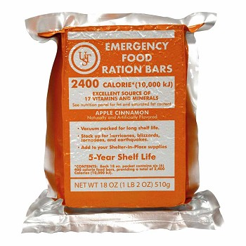 Ust Emergency Food Ration Bars Review