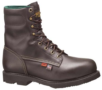 Thorogood 8-inch I-Met All Leather Steel Toe Work Boots - 38253