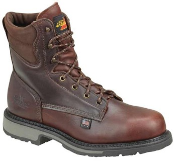 Thorogood American Heritage 8-inch Dark Brown Steel Toe Work Boots - 804-4204