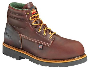 Thorogood 6-inch Plain Toe Composite Safety Toe Work Boots - 804-4366