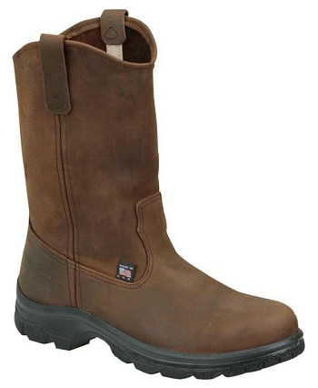 Thorogood 12-inch Wellington Crazy Horse Steel Toe Work Boots - 804-4590