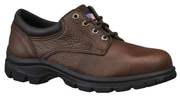 Thorogood Plain Toe Steel Toe Oxford Work Shoes - 804-4760