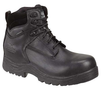Thorogood 6-inch Waterproof Hiker Composite Safety Toe Black Boots -  804-6037