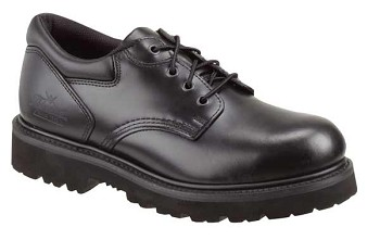 Thorogood Classic Leather Academy Safety Toe Black Oxford Shoes - 804-6449