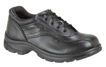 Thorogood Double Track Oxford Safety Toe Black Uniform Shoes - 804-6908
