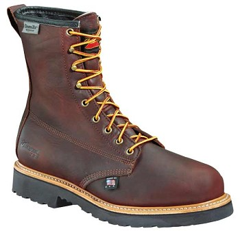 Thorogood 8-inch Insulated Waterproof Plain Toe Work Boots - 814-4288