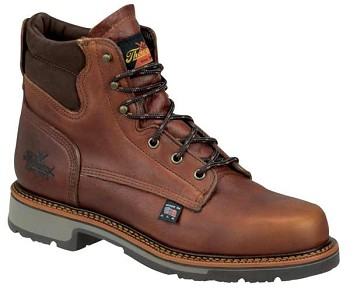 Thorogood American Heritage 6-inch Plain Toe Work Boots - 814-4550