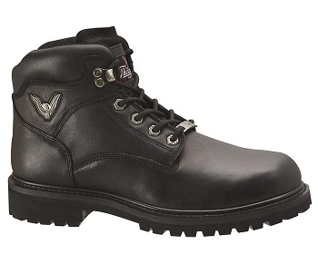Thorogood Back Road 6-inch Black Motorcycle Boots - 824-6904