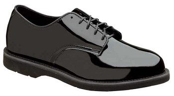 Thorogood Poromeric Black Oxford Uniform Shoes - 831-6027