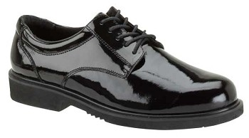 Thorogood Poromeric Academy Black Oxford Uniform Shoes - 831-6031