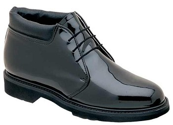 Thorogood 6-inch Poromeric Black Uniform Shoes - 831-6114