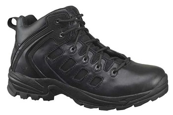 Thorogood Mid Cut Black Hiker Uniform Boots - 834-6196