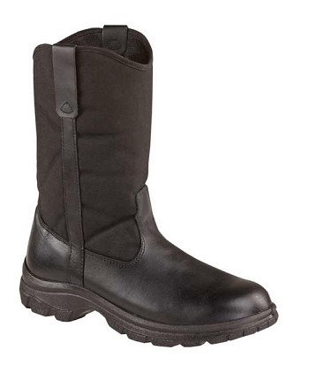 Thorogood 10-inch Wellington Black Uniform Boots - 834-6211