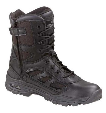 Thorogood 8-inch VGS Waterproof Black Uniform Boots - 834-6329