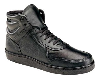 Thorogood Code 3 Mid Cut Black Uniform Shoes - 834-6444