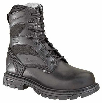 Thorogood 8-inch Waterproof Insulated Black Uniform Boots - 834-6448
