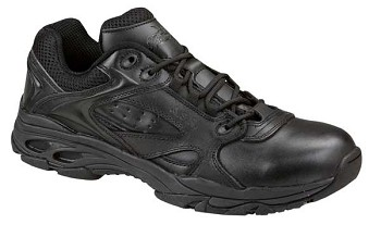 Thorogood Black Slip Resistant Ultra Light Oxford Uniform Shoes - 834-6522