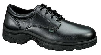 Thorogood Black Oxford Uniform Shoes (Non-Safety Toe)-834-6905