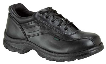 Thorogood Double Track Black Oxford Uniform Shoes - 834-6908