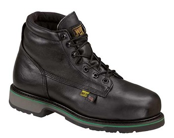 Thorogood 6-inch Black I-Met 2 Metatarsal Guard Work Boots - E078