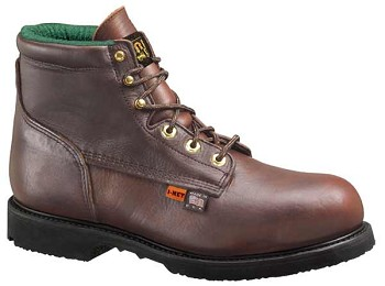 Thorogood 6-inch I-Met 2 Dark Brown Internal Met Guard Work Boots - I702