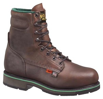Thorogood I-Met 8-inch Brown Leather Metatarsal Guard Work Boots - 804-4561