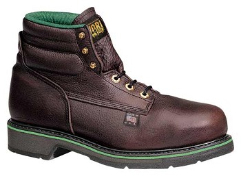 Thorogood Sport 6-inch Brown Plain Toe Steel Toe Work Boots - S060-1