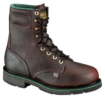 Thorogood Sport 8-inch Brown Plain Toe Steel Toe Work Boots - S080-2
